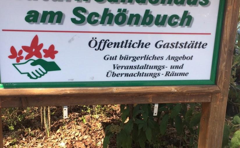 Schnitzel, song, and sunshine on the Schönbuch ridge…