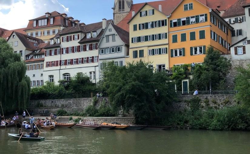 Bill's birthday in Tübingen