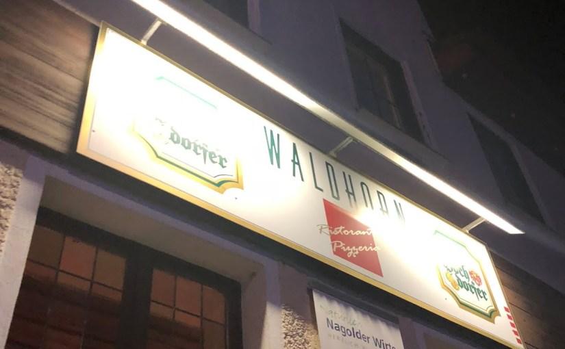 Friday night at Waldhorn in Nagold…