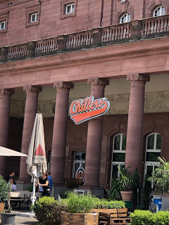 An underwhelming late lunch at Chillers in Wiesbaden…