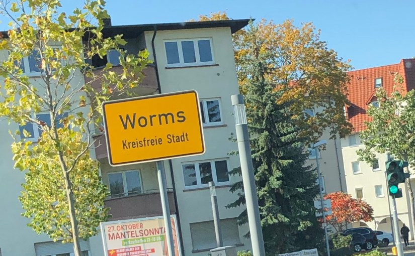 From Wiesbaden to wine, women, and Worms…