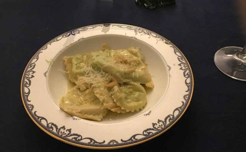 Homemade ravioli!
