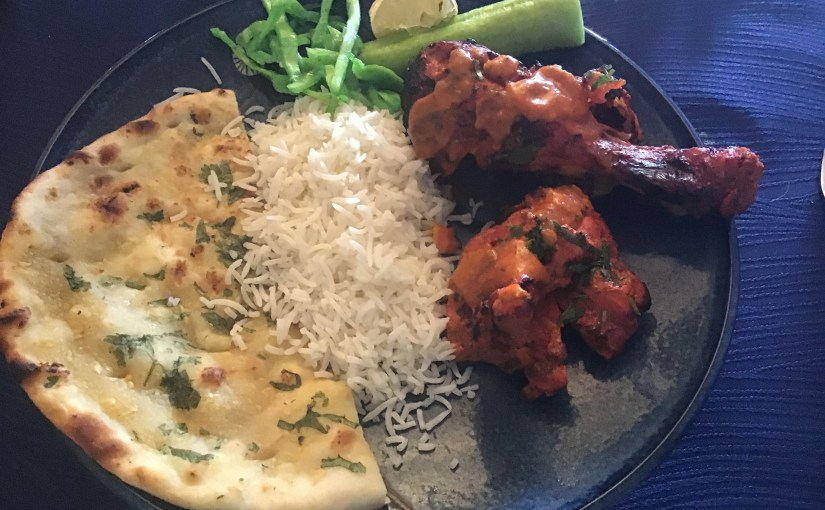 Mr. Bill gets rare Indian food on his birthday…