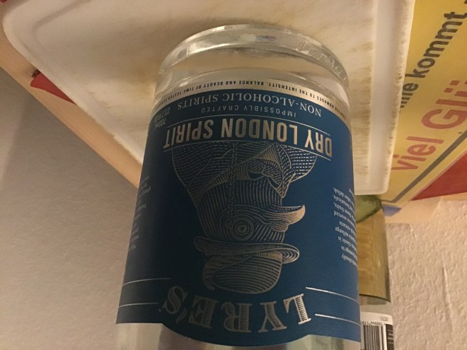 No, it's not just like regular gin, but it's not bad.  I like the label, too.