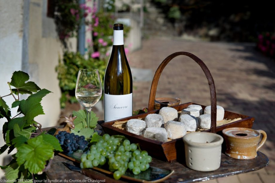 Sancerre and goat cheese