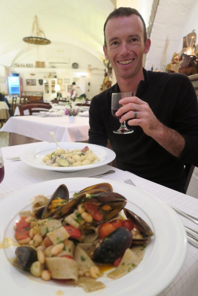 The cuisine of Puglia
