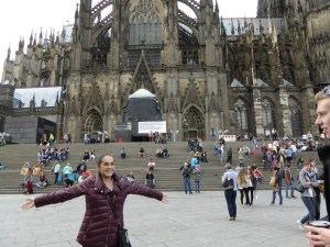 I was just so happy to be there in Cologne with my friends.