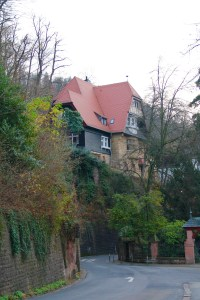 Moore Haus, the mansion where 60 of us lived for the first semester - Heidelberg, Germany