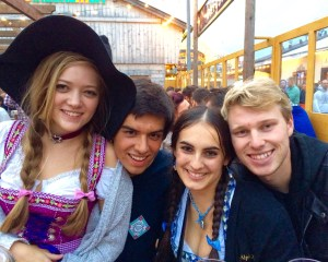 The OG Squad at Oktoberfest