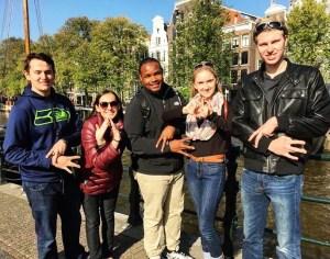 Greeks in Amsterdam