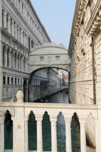 I managed to get a good shot of the Bridge of Sighs without any tourists in the way - Venice, Italy