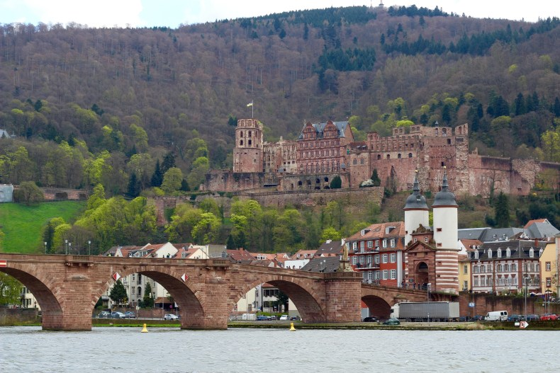The Old Heidelberg Bridge and Castle - Heidelberg, Germany