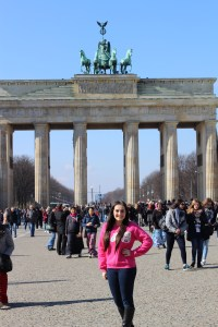 Here I am, finally able to walk underneath the Brandenburg Gate! - Berlin, Germany