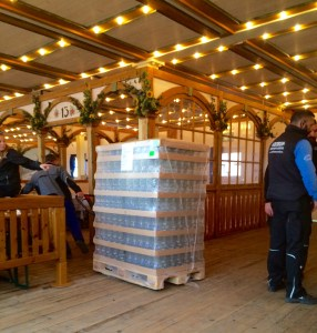 The amount of beer steins they use at Oktoberfest - Munich, Germany