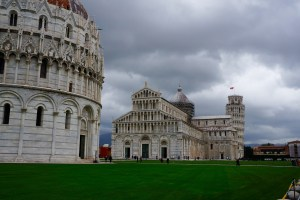 Eating in front of the Leaning Tower of Pisa? Priceless. Eating in front of the Leaning Tower of Pisa? Also expensive.