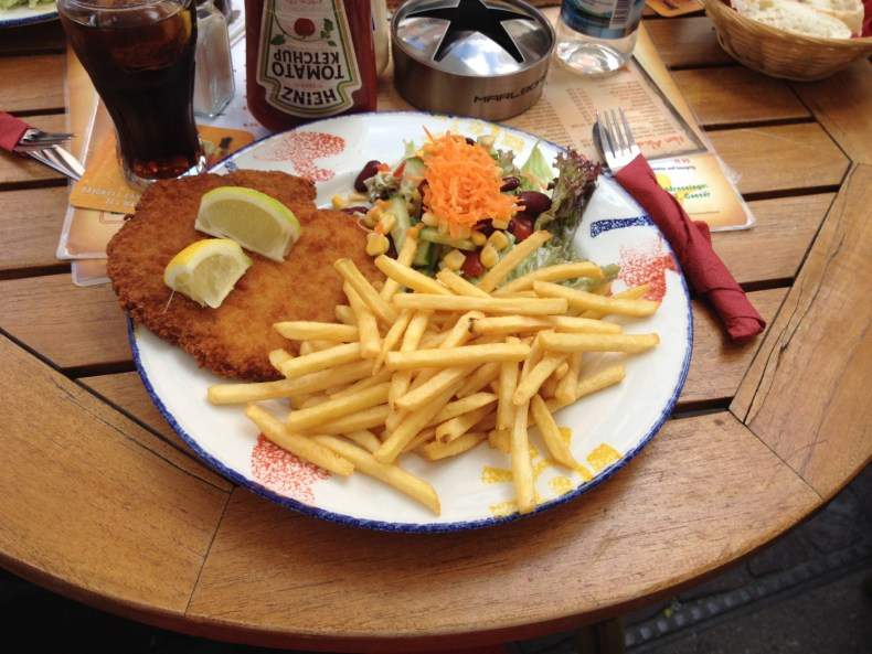 Good Schnitzel is a German staple - Heidelberg, Germany