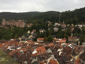 Views from the top of the Holy Ghost Church - Heidelberg, Germany
