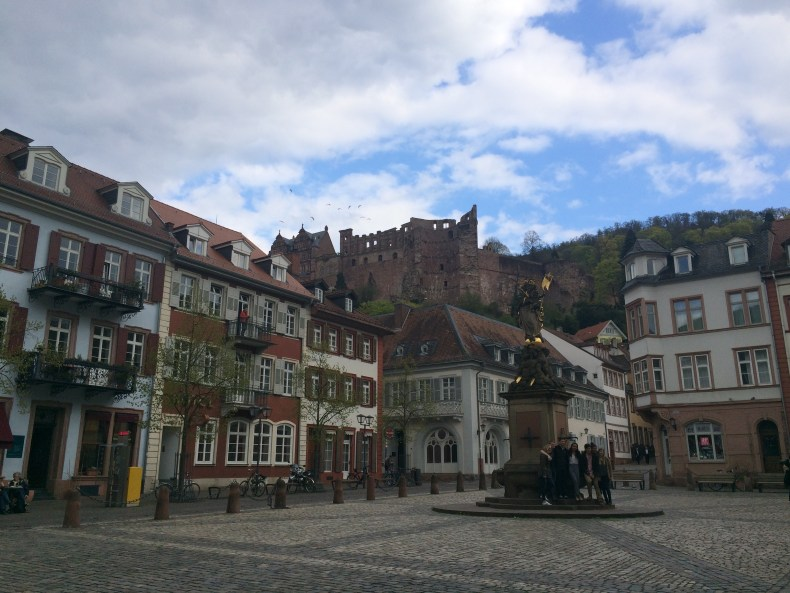 Every angle of Heidelberg is gorgeous