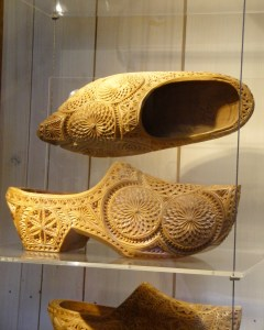 Who knew wooden clogs could be so elaborate? - Zaanse Schans, Netherlands