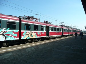 Polish trains - Oswiecim, Poland