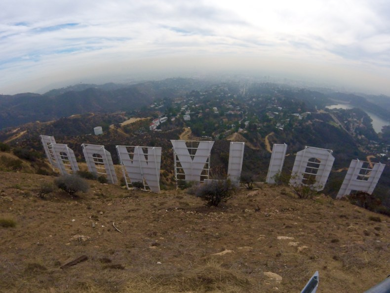 Hike to Hollywood Sign