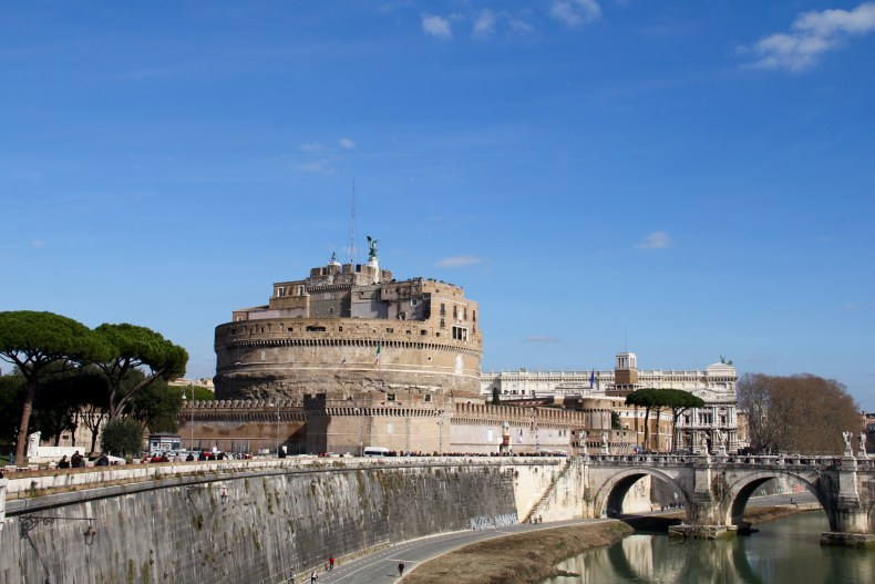 Castel Sant'Angelo along the banks of the Tiber - The Traveling Storygirl