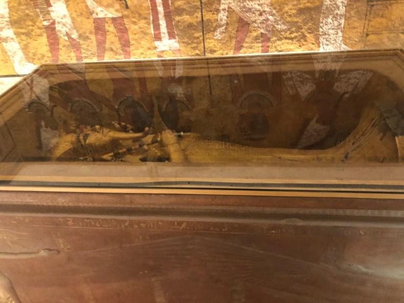 King Tut's Golden Coffin
