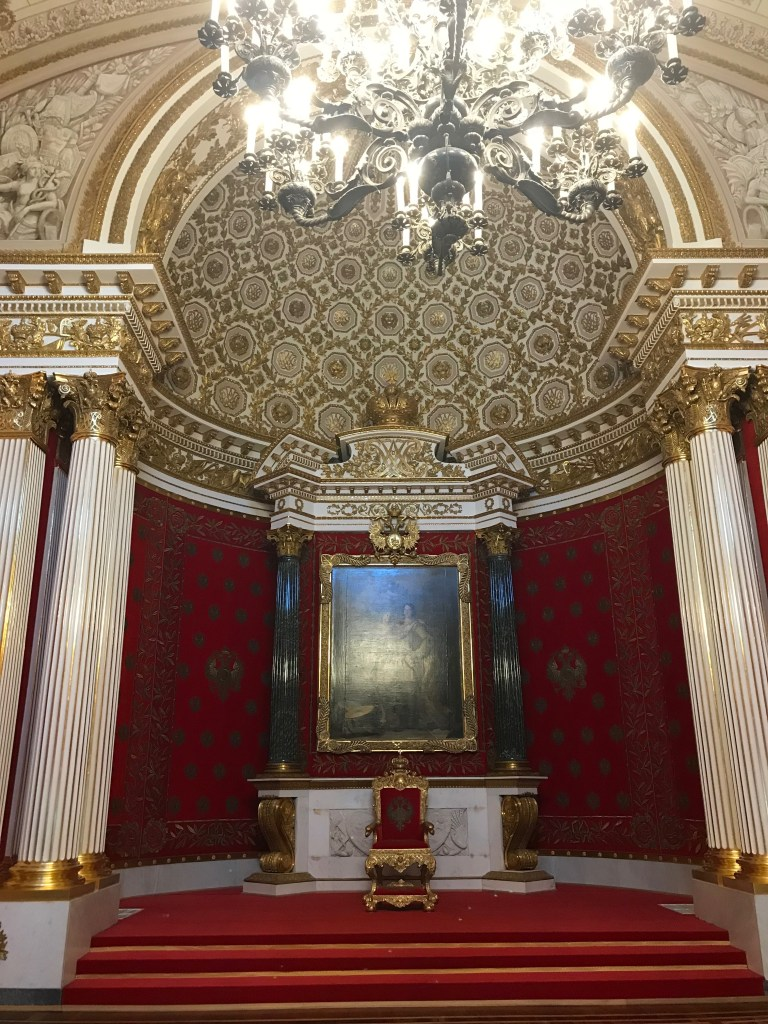 Throne Room St. Petersburg Russia