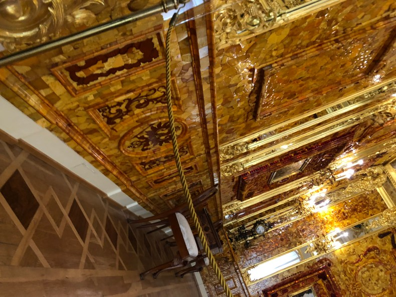 Amber Room Catherines Palace St. Petersburg