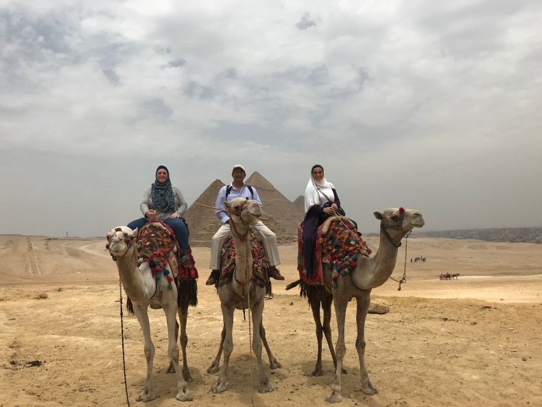 Great Pyramids of Giza - The Traveling Storygirl