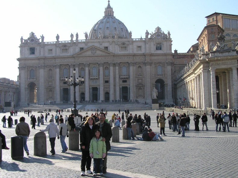 St. Peter's Basilica - The Traveling Storygirl
