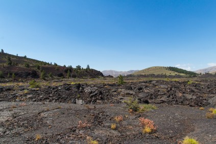 Pahoehoe, A'a Lava and Cinder Cone