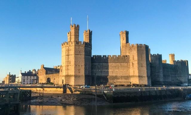 Caernarfon Castle - Scotland Wales London Itinerary BritRail Pass