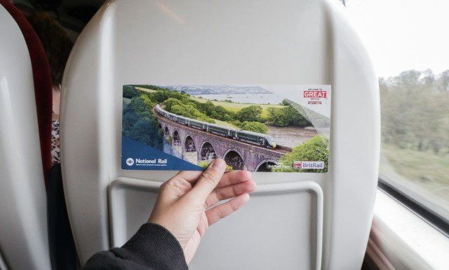 Our 3-Day BritRail Flexipass - Scotland Wales London Itinerary BritRail Pass