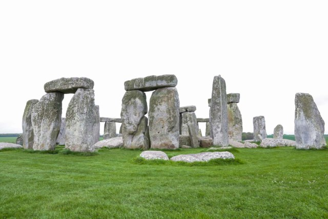 The Stonehenge - Scotland Wales London Itinerary BritRail Pass