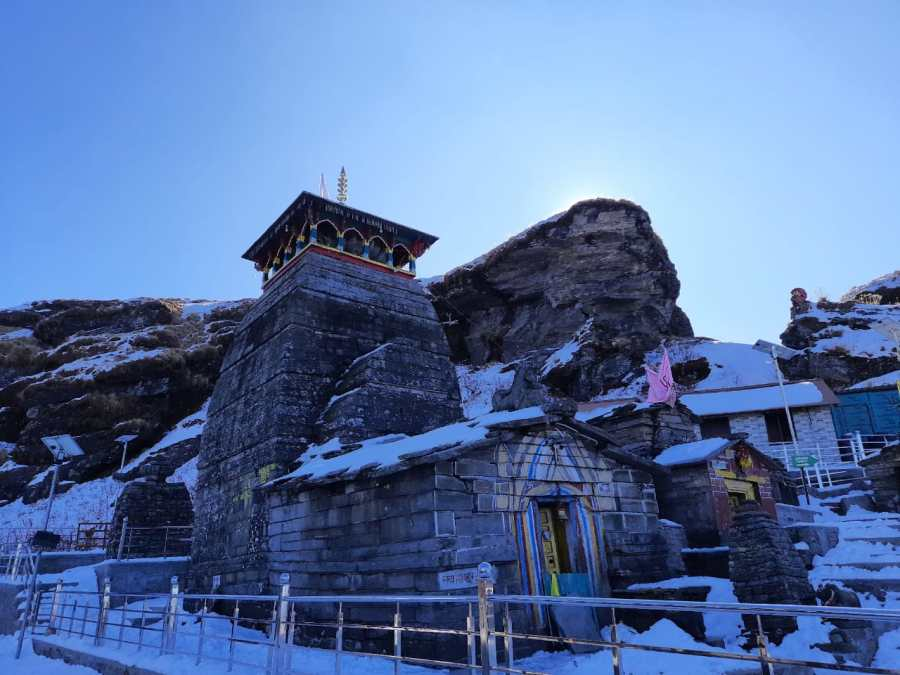 Tungnath Temple, the heighest Shiva temple in the world.
