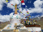 Monastery at Kunzum Pass!