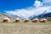 Humble abode at Chandratal!