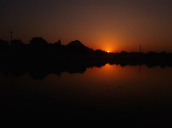 Sunset @ Pushkar