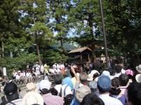 Yabusame festival in Kamakura, Japan.