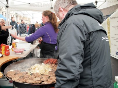 Deerburger @ Bogstadveien street market