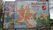 Koluszki map