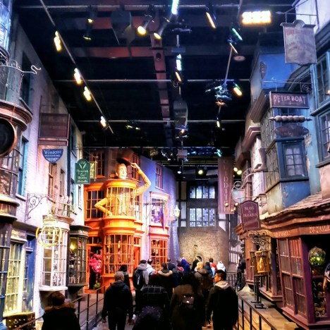Diagon Alley, Harry Potter Warner Brothers Studio Tour London