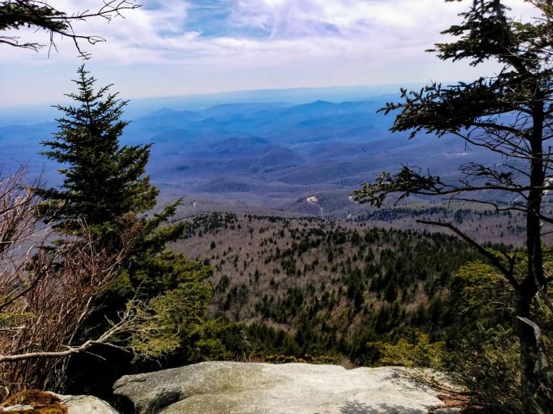 Attic Window, Grandfather Mountain Hiking, North Carolina