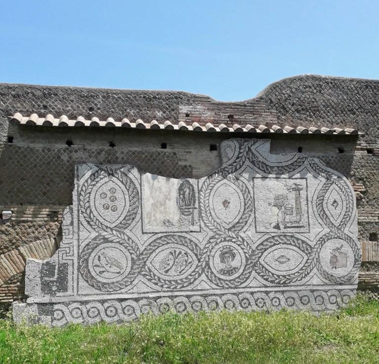 Ostia Antica, Mosaic