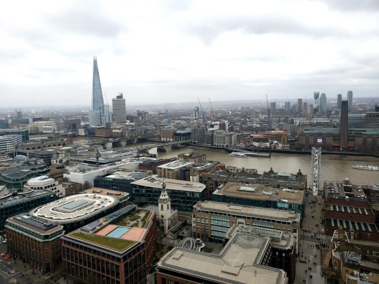 Saint Paul's Cathedral View, London