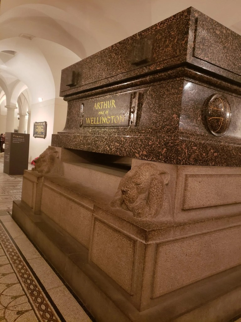Saint Paul's Cathedral Tombs, London