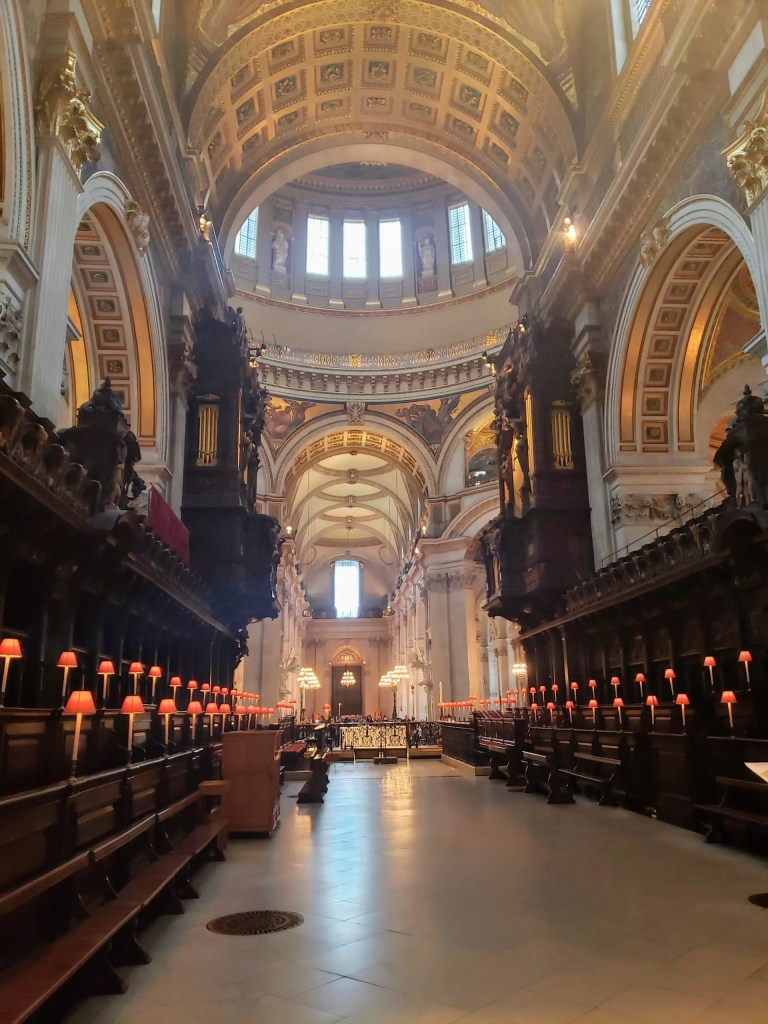 Saint Paul's Cathedral Quire, London