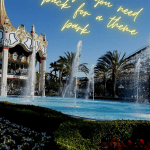 10 Things You Need to Pack for a Theme Park
