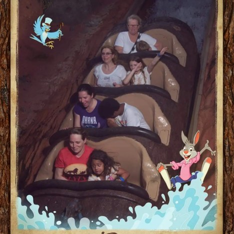 Splash Mountain, Walt Disney World, Orlando, Florida